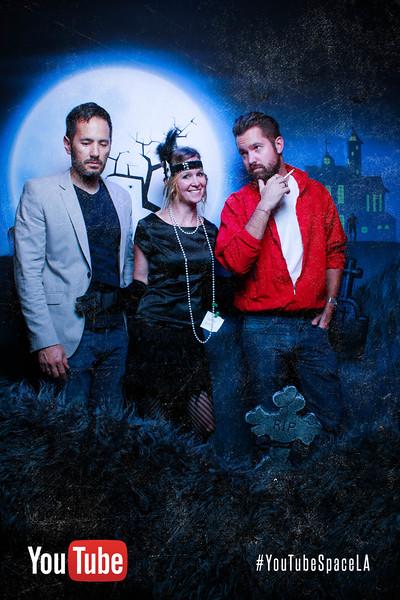YouTube Space LA Halloween Party